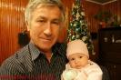 С внучкой Софией