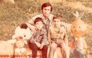 С племяниками Сосланом и Аланом